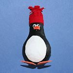 Paper Mache Penguin 150