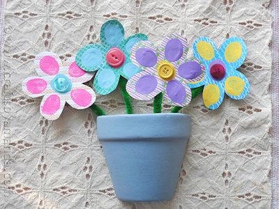 Bouquet of Fingerprint Flowers