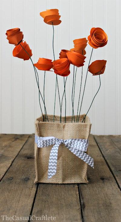 Pretty Paper Flowers