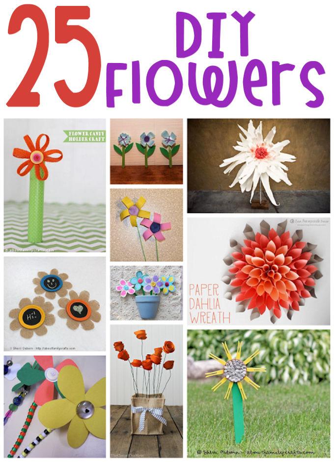 25 DIY Flowers