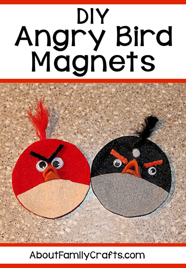 DIY Angry Birds Ornaments