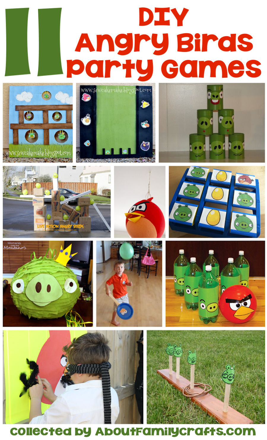 65 diy angry birds party ideas about family crafts for Backyard party decoration crossword