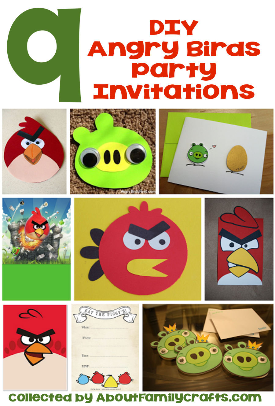 65 diy angry birds party ideas about family crafts for Angry bird birthday decoration ideas