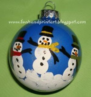 fingerprint snowmen ornaments 25 tree ornaments can make about family 2019